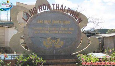 Làng Hoa Thái Phiên Đà Lạt