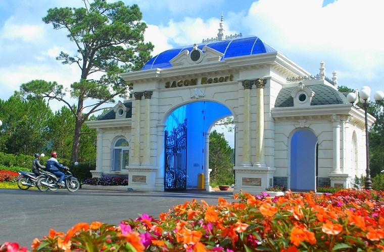 Cổng Resort Đẹp