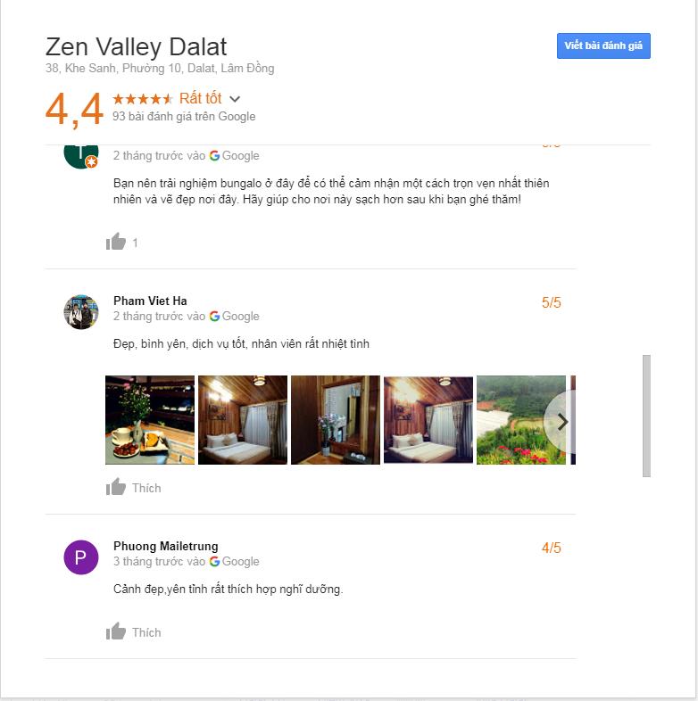 Đánh giá về Zen Valley Resort