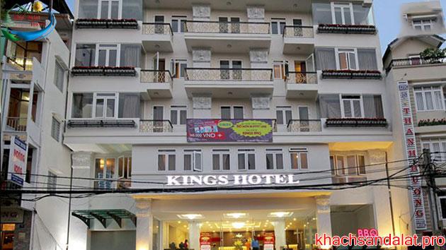 Khách sạn Kings vừa mới xây tại Đà Lạt