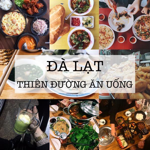 các địa điểm ăn uống ở Đà Lạt