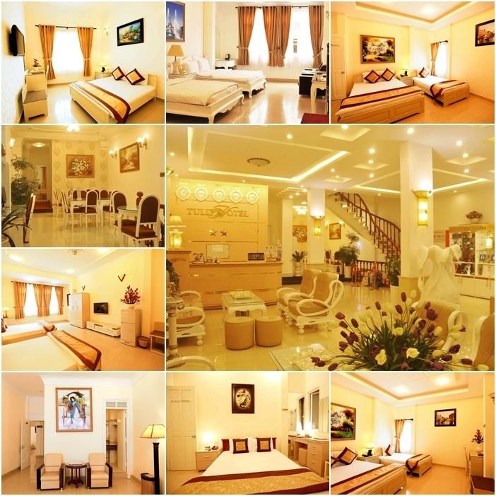 khách sạn nằm trên đường Nguyễn Chí Thanh Đà Lạt