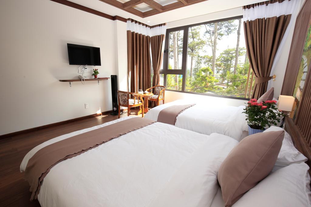 review khách sạn view đẹp ở đà lạt