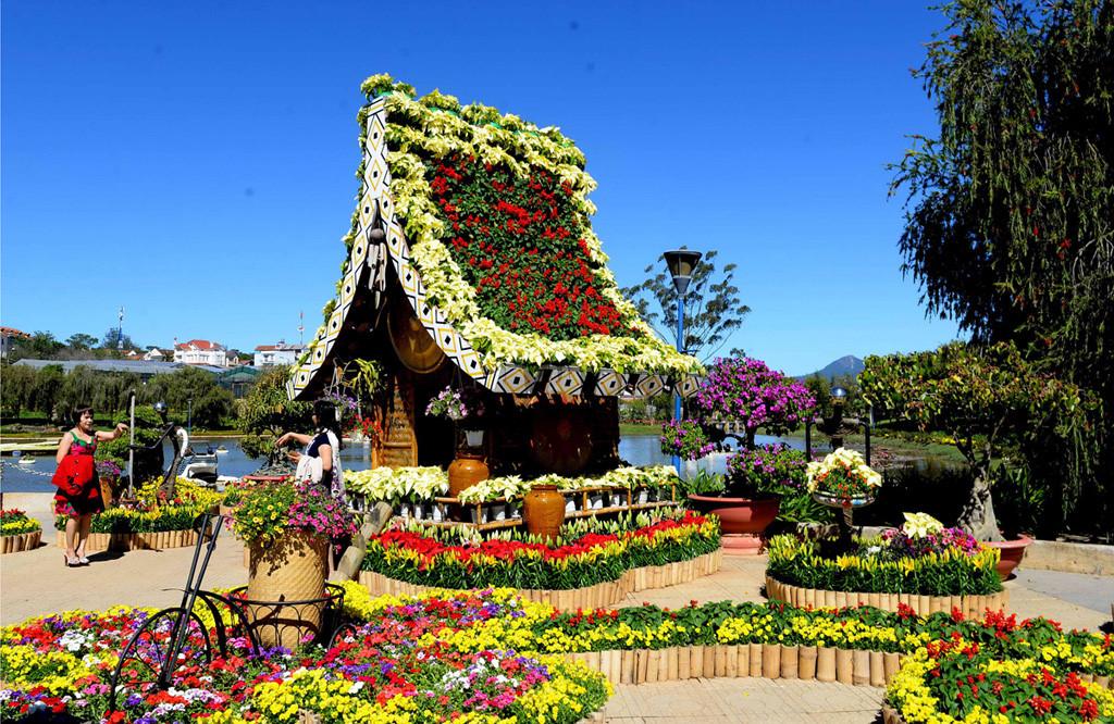 giá vé vườn hoa thành phố đà lạt