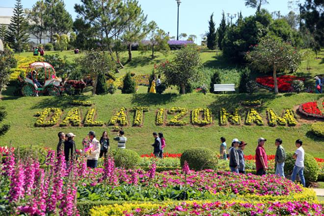 giờ mở cửa vườn hoa thành phố đà lạt