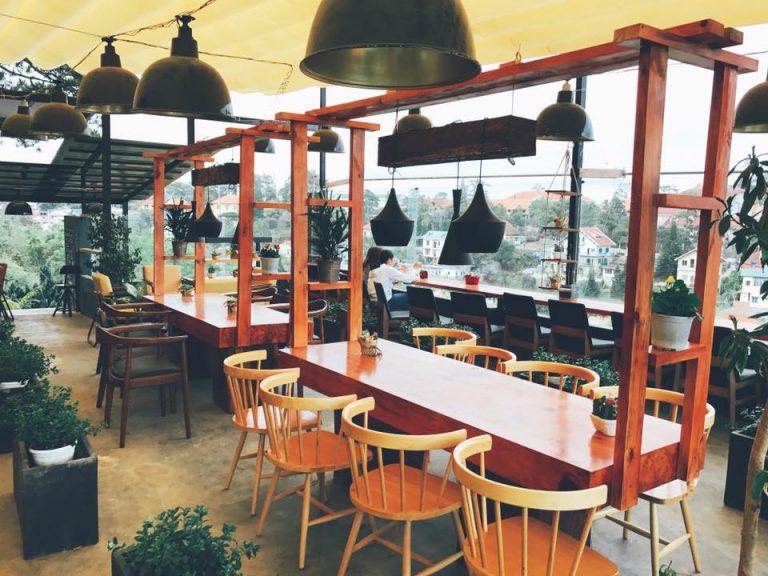một số quán cà phê đẹp ở đà lạt