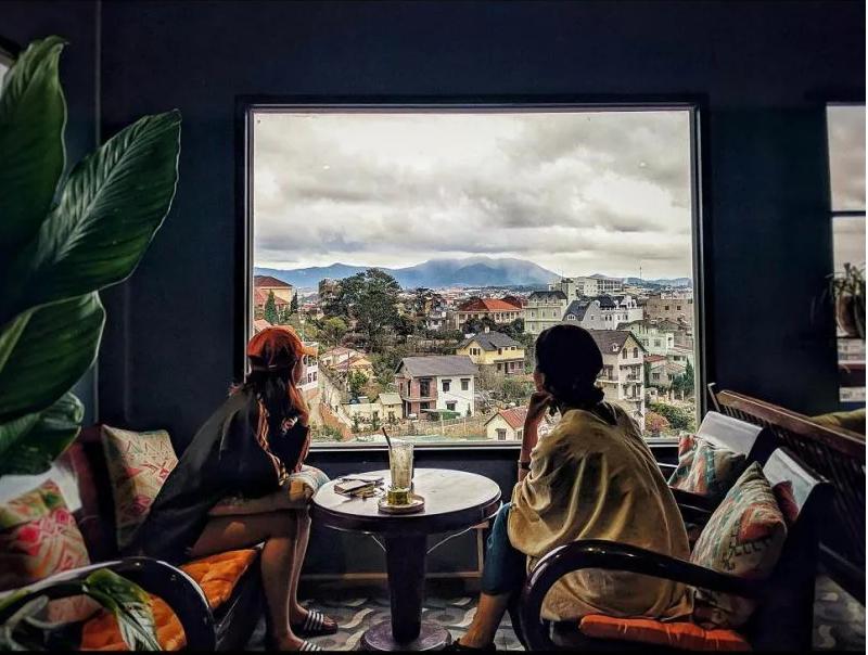những quán cafe view đẹp ở đà lạt