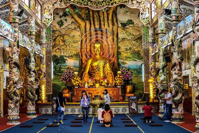 giá vé tham quan chùa linh phước đà lạt