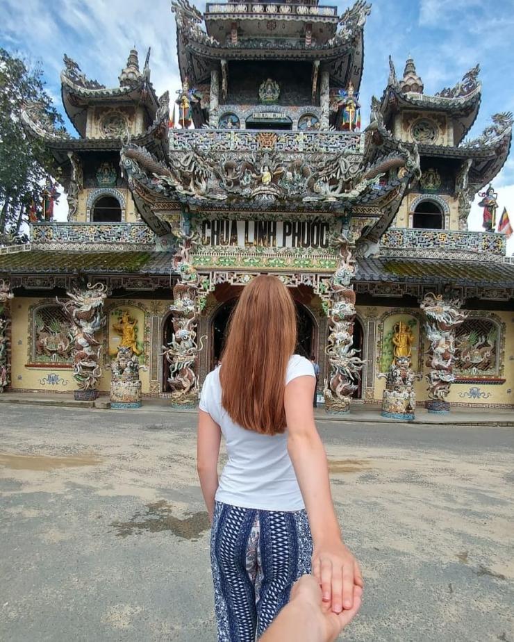 hình ảnh chùa linh phước đà lạt