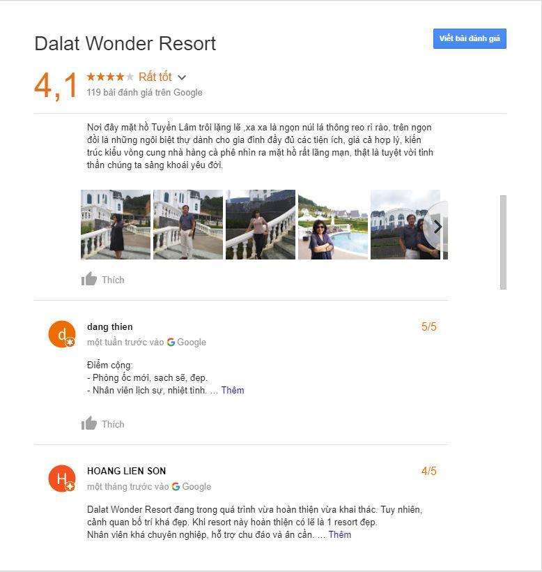 Review dalat wonder resort