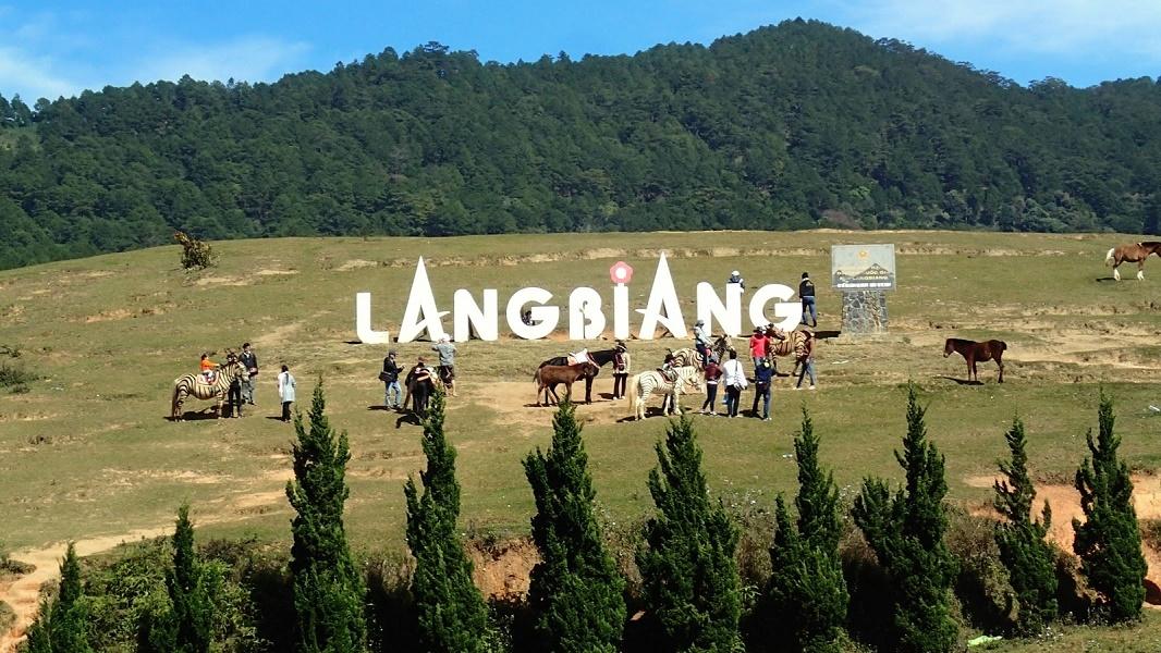 các trò chơi ở núi langbiang đà lạt