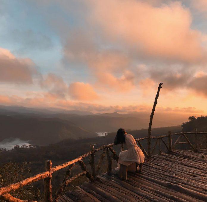 cách đi đến cây cầu gỗ săn mây ở đà lạt