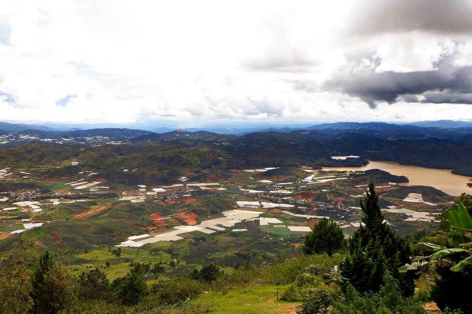 hình ảnh núi langbiang đà lạt