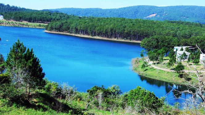 khu du lịch sinh thái hồ tuyền lâm đà lạt