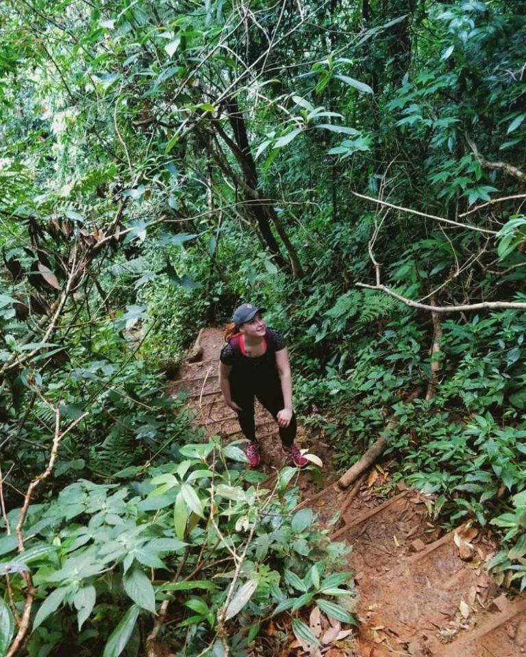 leo núi langbiang