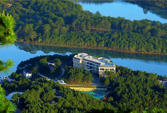 resort hồ tuyền lâm