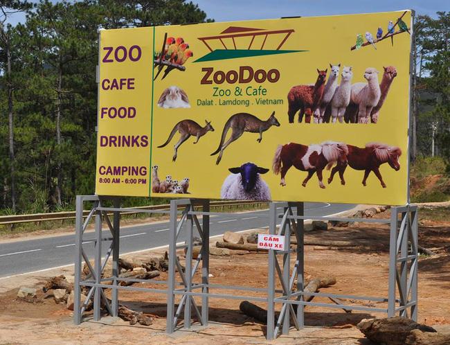 vườn thú zoodoo đà lạt ở đâu
