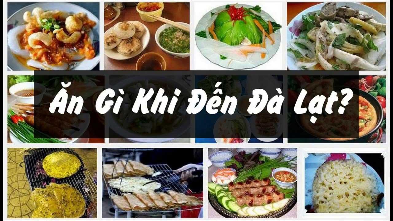 Ăn gì khi đến Đà lạt