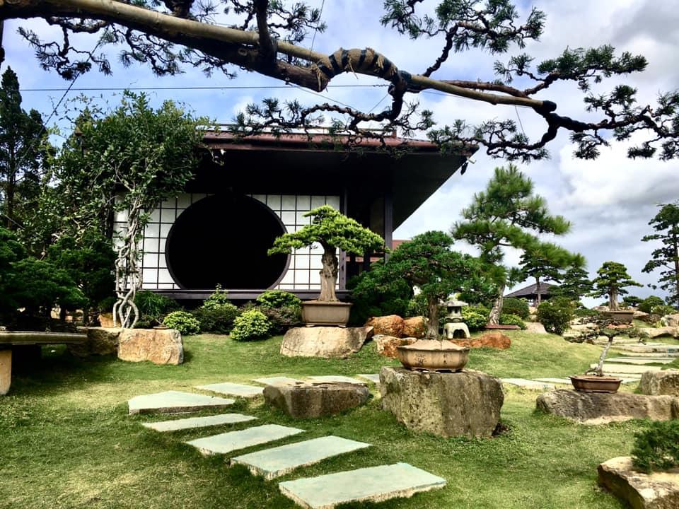 du khách check in tại Que Garden Đà Lạt