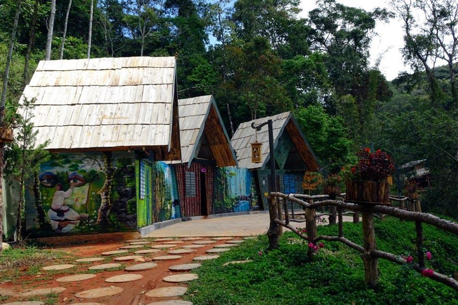 Khu nghỉ dưỡng sinh thái hoa sơn điền trang