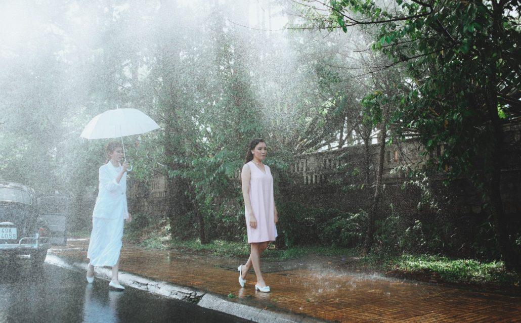 Mùa mưa thành phố Đà Lạt