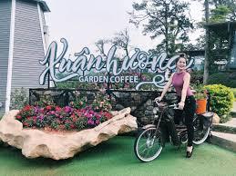 du khách check in Xuân Hương Garden Coffee