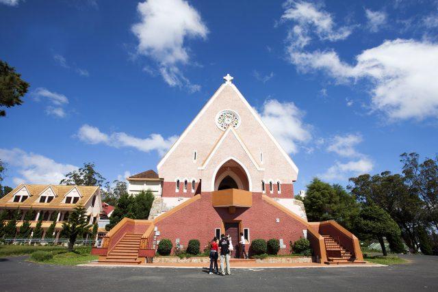 thuyết minh nhà thờ Domane De Marie Đà Lạt