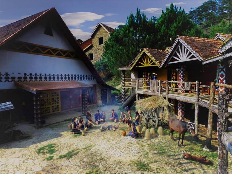 tour làng cù lần 1 ngày Đà Lạt