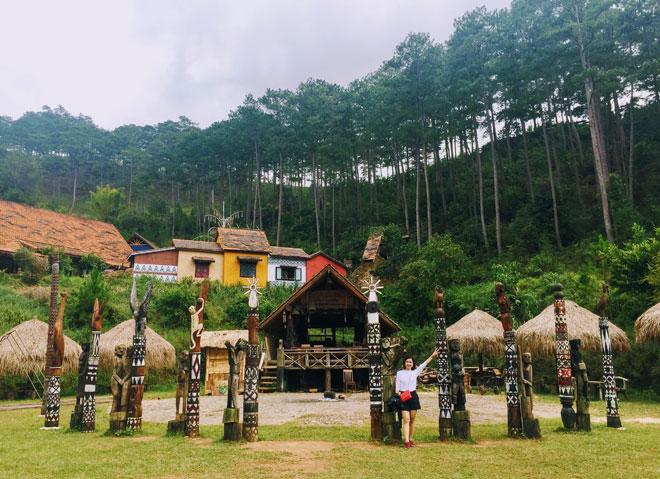 tour làng cù lần Đà Lạt