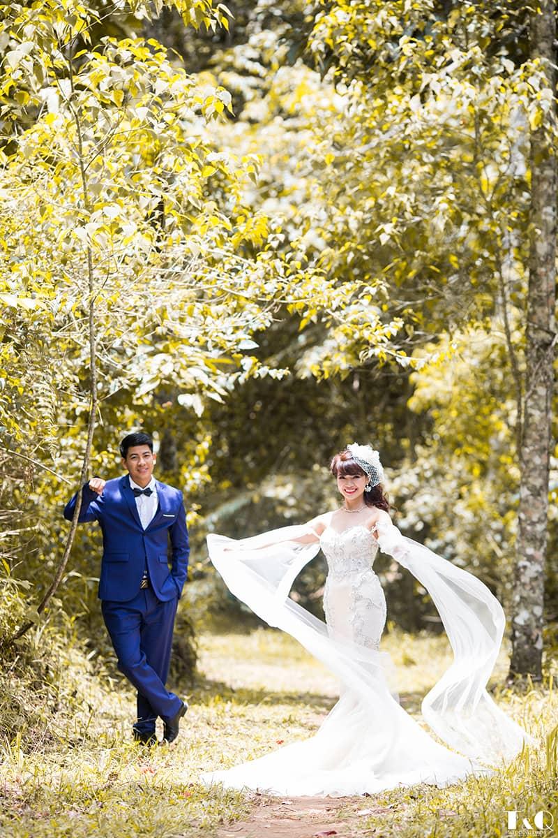 Áo cưới T & Q Đà Lạt có gì