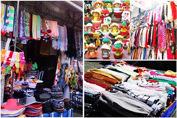 áo len ở chợ Đà Lạt