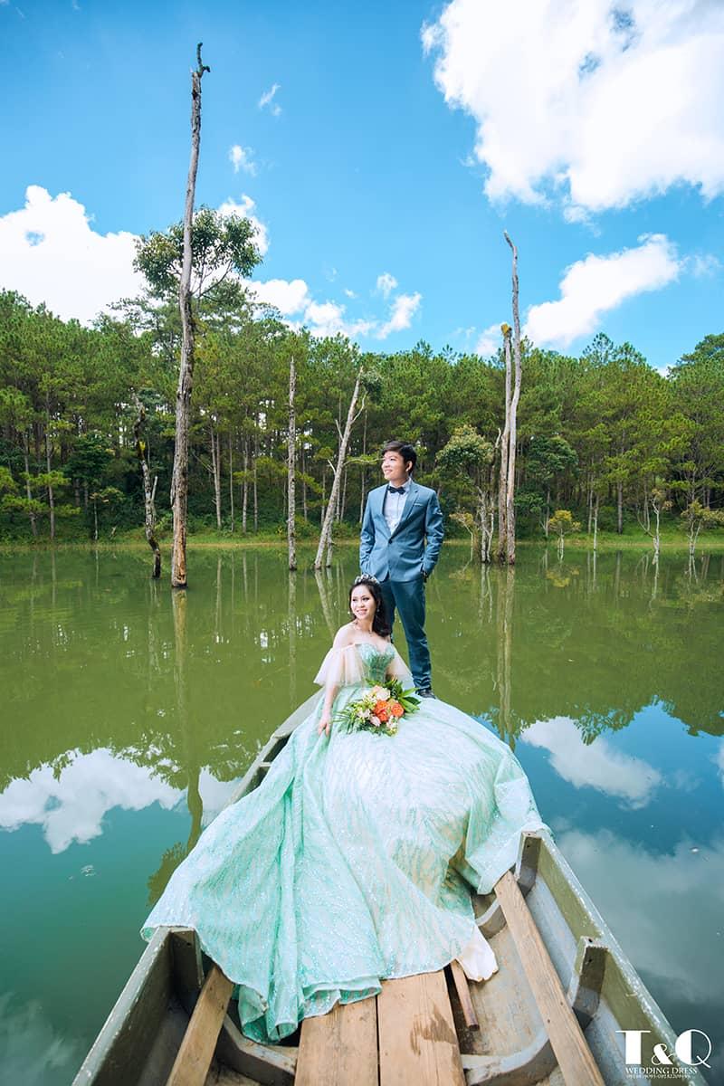 Địa chỉ áo cưới T & Q Đà Lạt