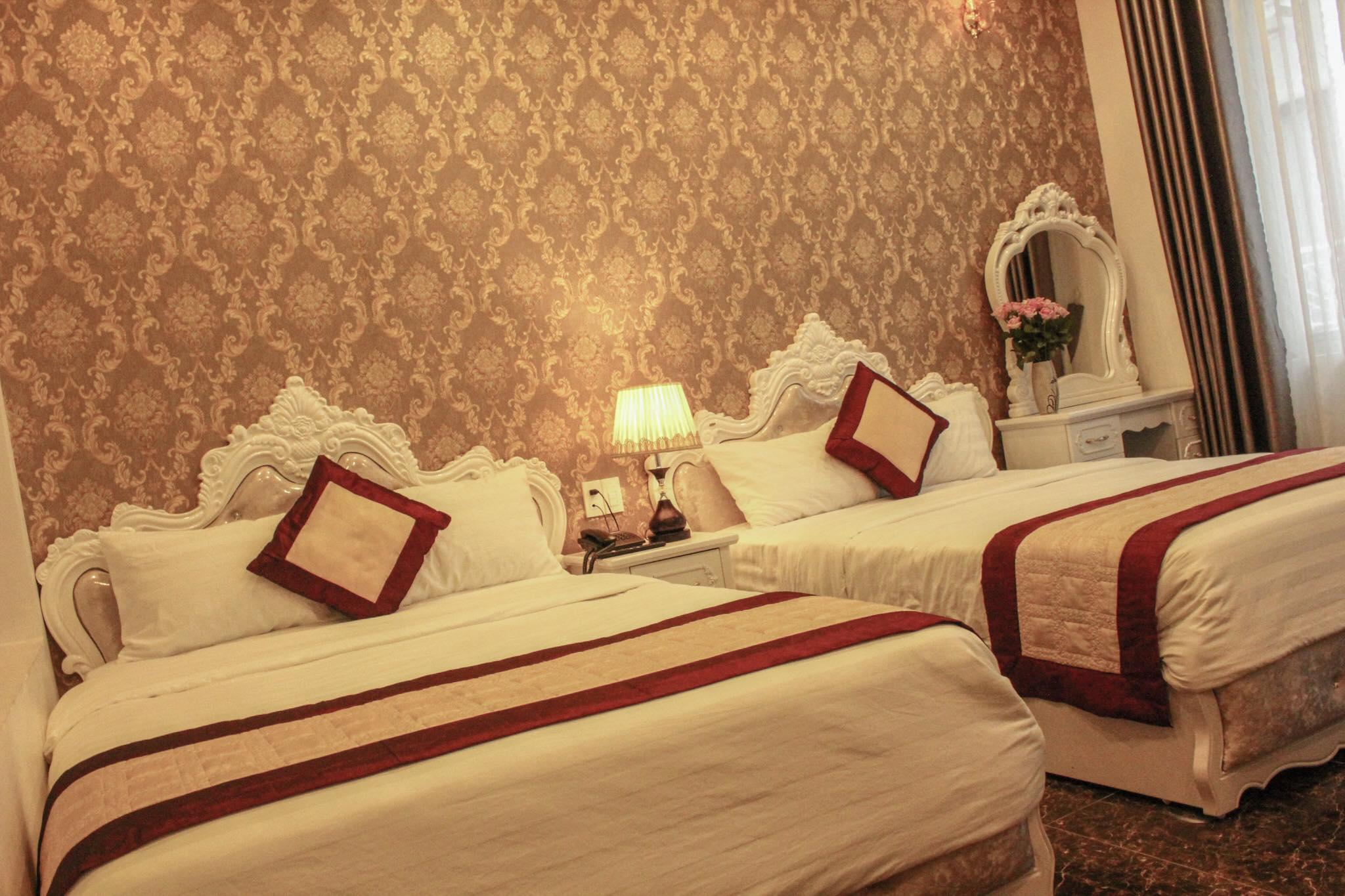 Phòng ở khách sạn Ánh Tiên Đà Lạt