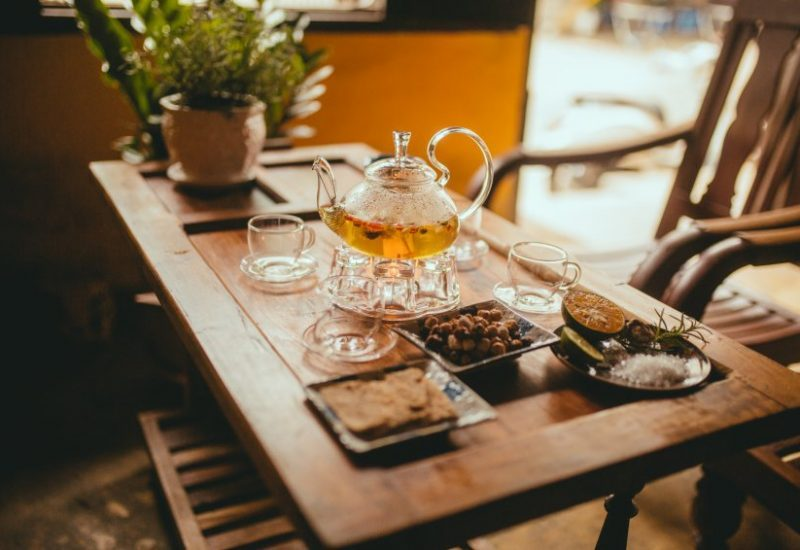 quán trà ở Đà Lạt