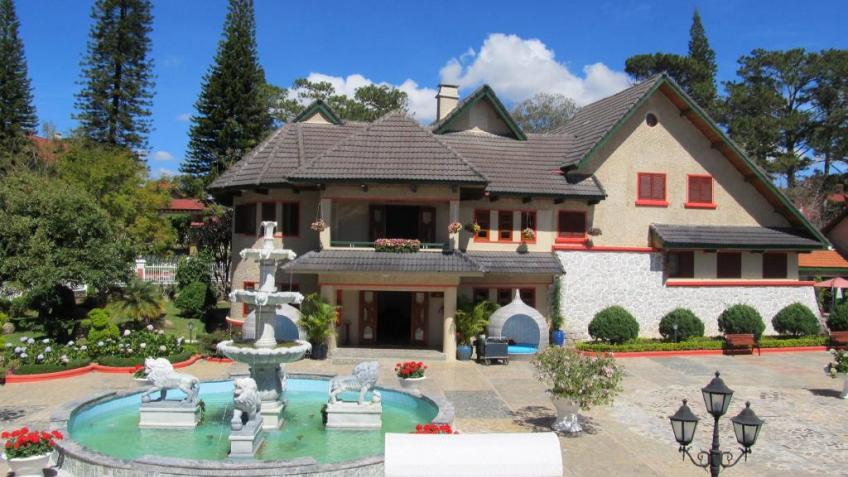 kinh nghiệm đặt phòng Monet Garden Villa Đà Lạt