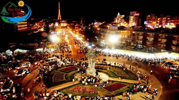 khám phá chợ Đà Lạt trong tour Sài Gòn Đà Lạt 3 ngày 3 đêm