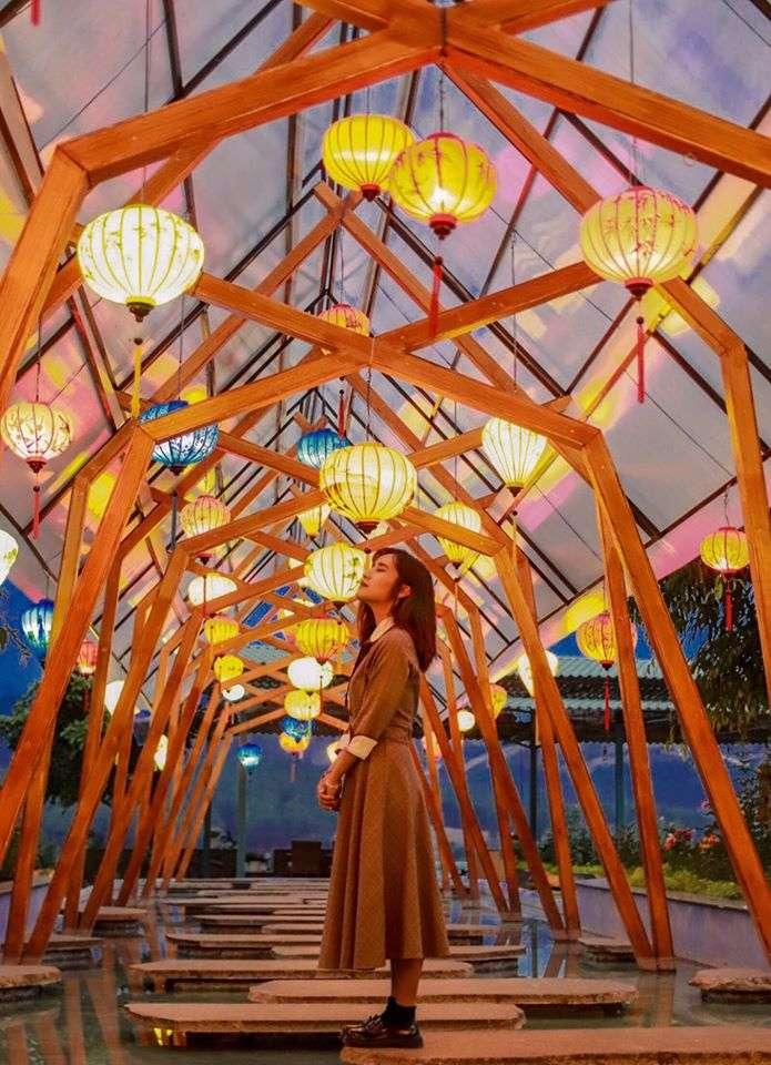 khu du lịch Thúy Thuận khi về đêm