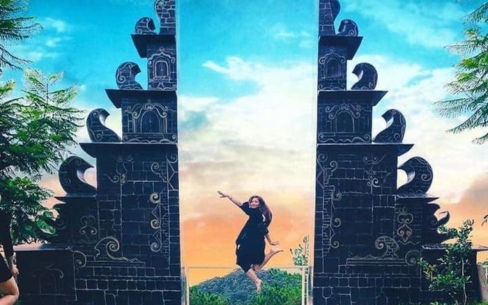 Cổng trời sống ảo Bali Đà Lạt