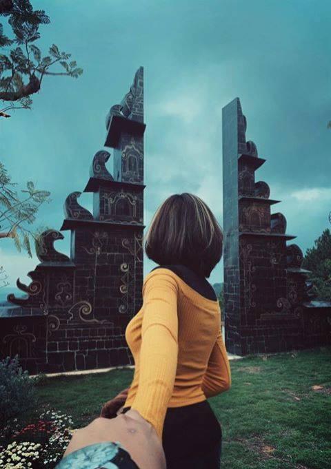 Địa điểm sống ảo cổng trời Bali