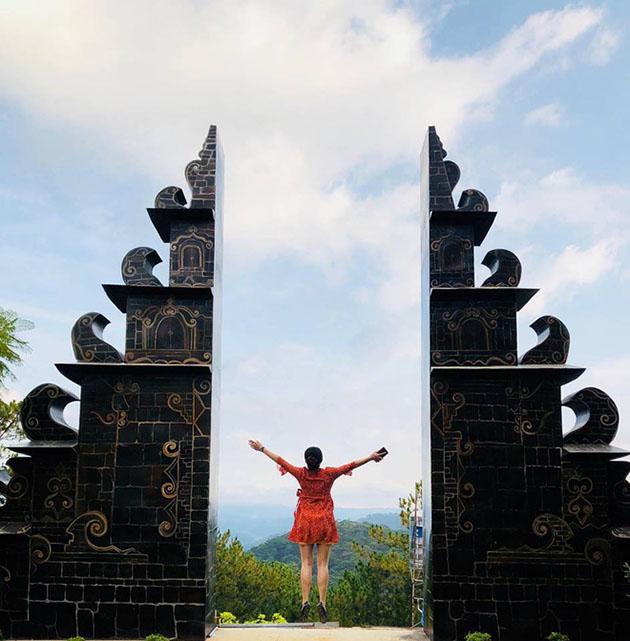 Hình ảnh ở cổng trời Bali