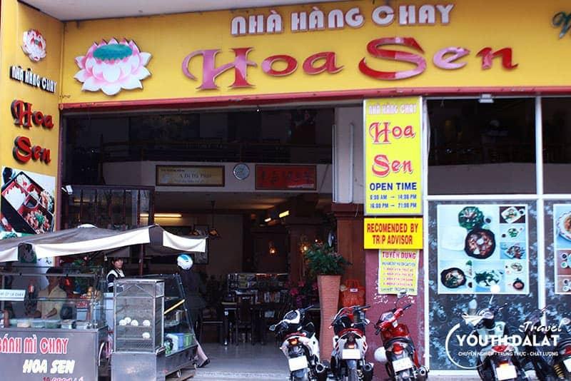 nhà hàng chay ở Đà Lạt