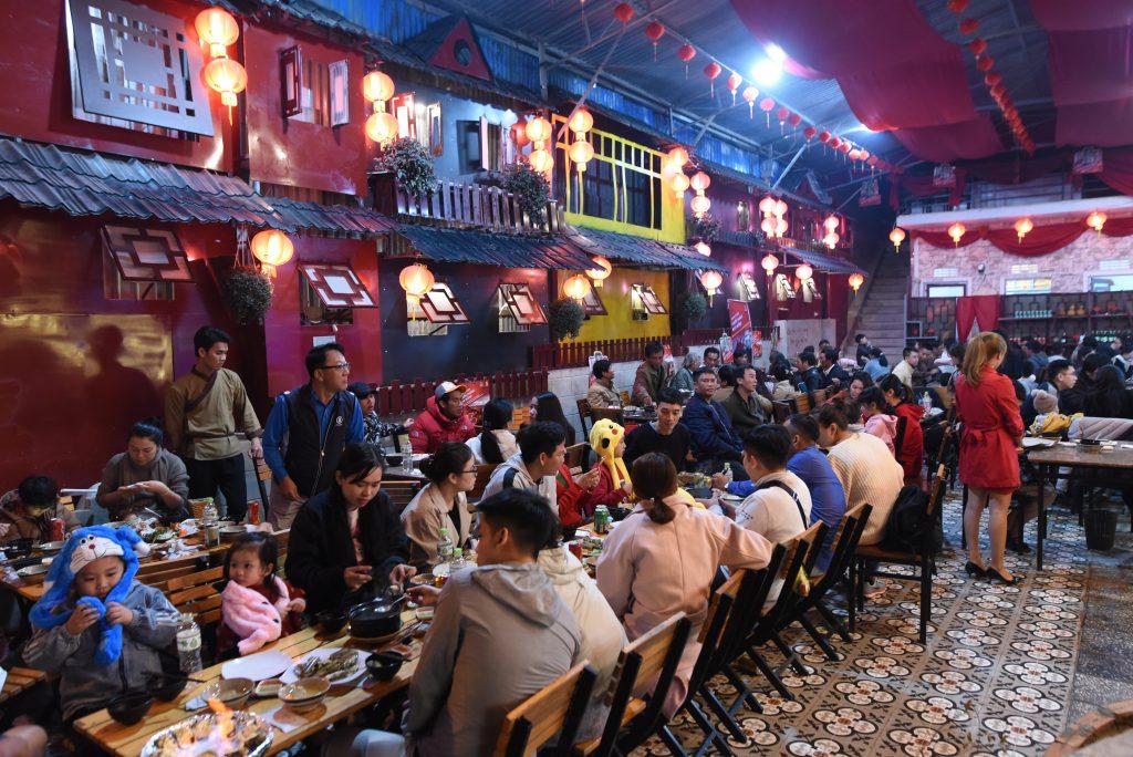quán ăn hiệp khách làng chài Đà Lạt
