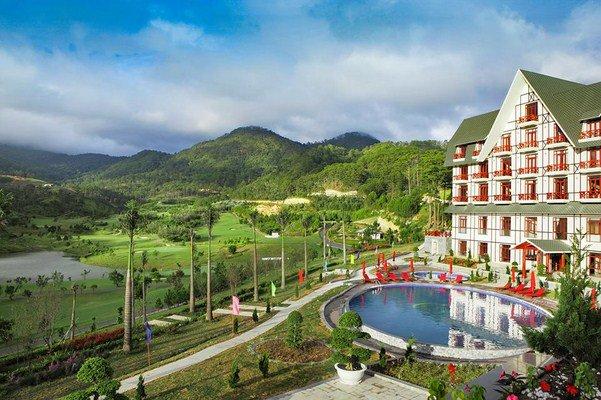 resort Đà Lạt view đẹp