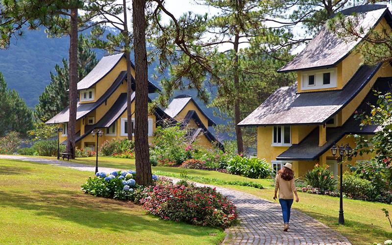 resort gần hồ Tuyền Lâm Đà Lạt