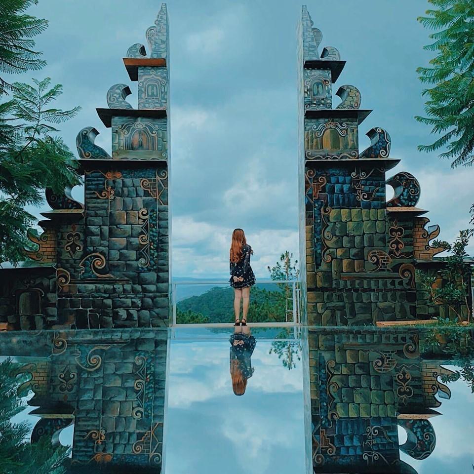 Sống ảo ở cổng trời Bali Đà Lạt