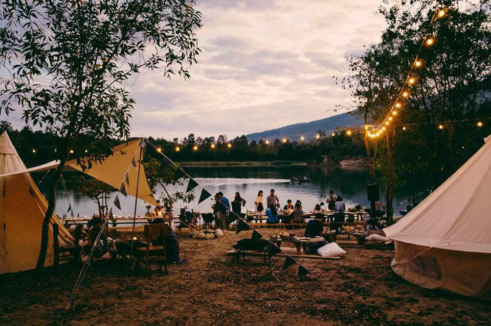 các địa điểm cắm trại Đà Lạt
