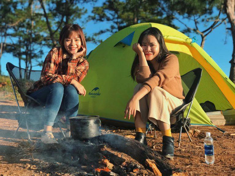 Cắm trại Đà Lạt