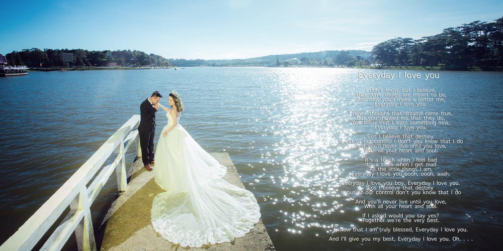 Chụp hình cưới ở Hồ Xuân Hương