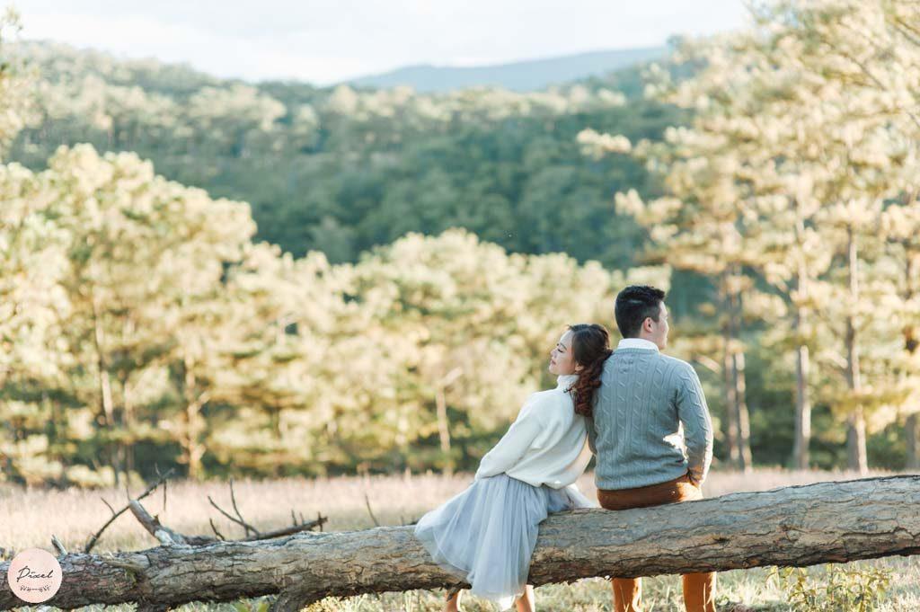 Đà Lạt chụp ảnh cưới ở đâu đẹp