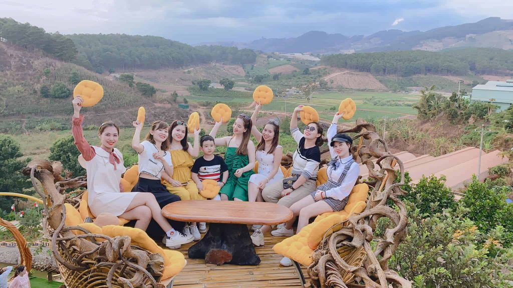 du lịch Đà lạt cùng đám bạn